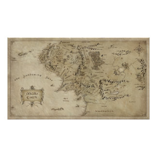 MIDDLE EARTH™ POSTER