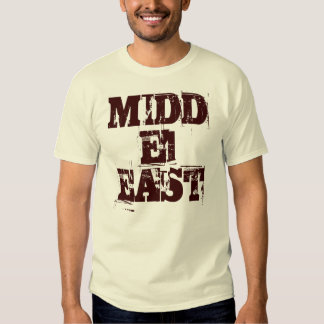 Middle East Tshirts