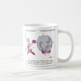 MIDDLE OF ROOM Mug by April McCallum