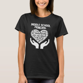 Middle School Principal T-Shirt