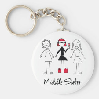 Middle Sister Keychain