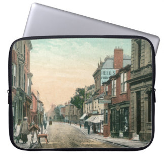 Middle Street, Driffield (1900) Laptop Cover