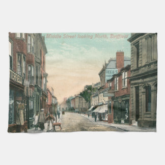 Middle Street, Driffield (1900) Tea Towel