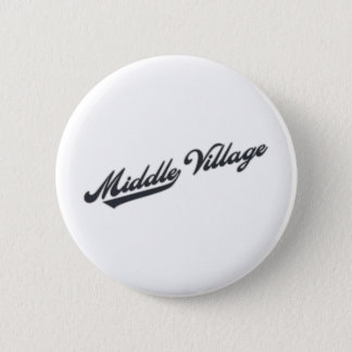Middle Village 2 Inch Round Button