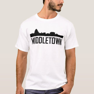 Middletown Connecticut City Skyline T-Shirt