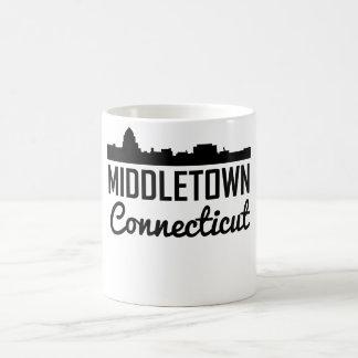 Middletown Connecticut Skyline Coffee Mug