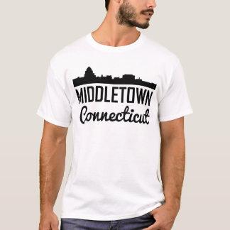 Middletown Connecticut Skyline T-Shirt