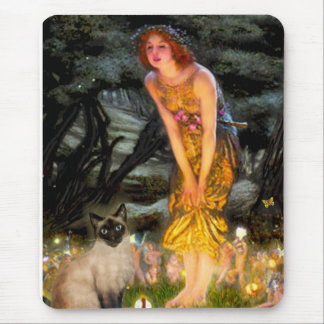 MidEve - Seal Point Siamese cat Mouse Pad