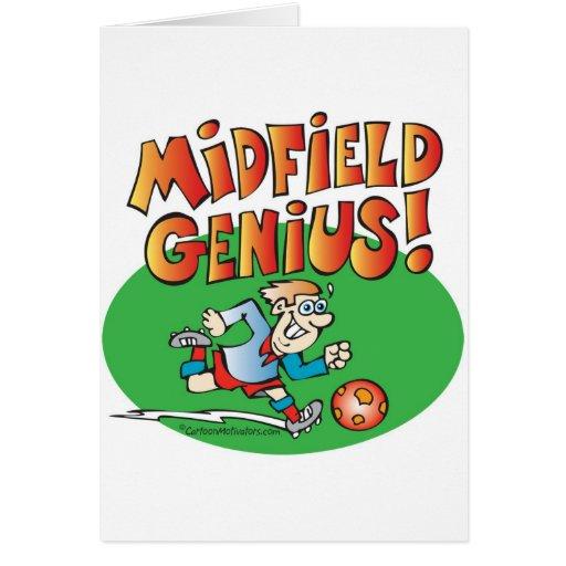 Midfield Genius! Greeting Card