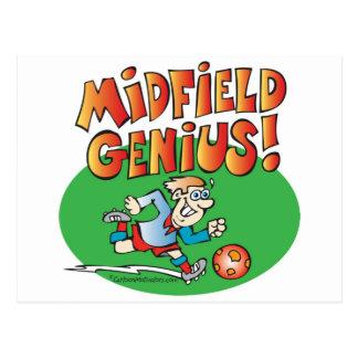 Midfield Genius! Postcard