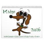 Midge 2016 'Sunday Comics' Calendar