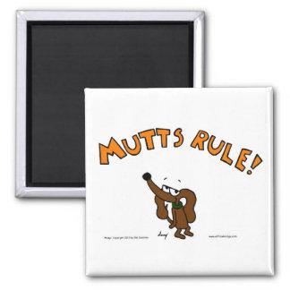 Midge MUTTS RULE Magnet