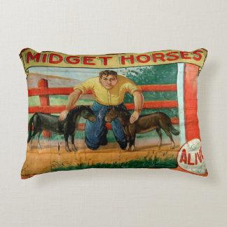 Midget Horses Decorative Pillow