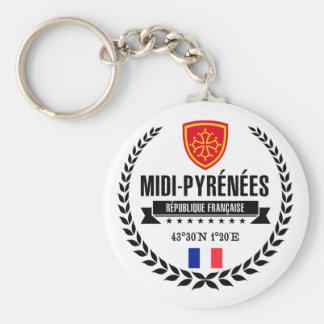 Midi-Pyrénées Keychain