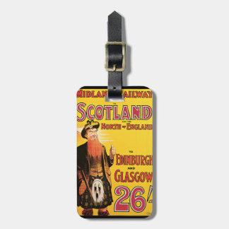 Midland Railway Scotland Bag Tag