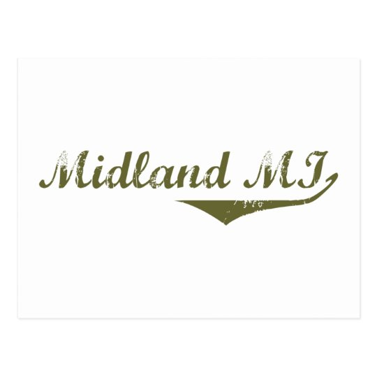 Midland  Revolution t shirts Postcard