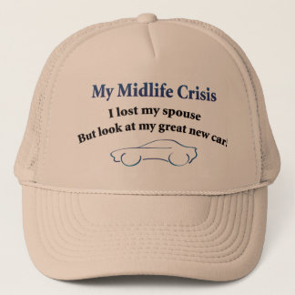 Midlife Crisis Car Trucker Hat
