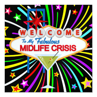 Midlife Crisis Party - SRF Card