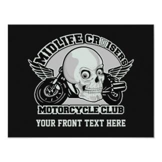 Midlife Cruisers MC custom invitations