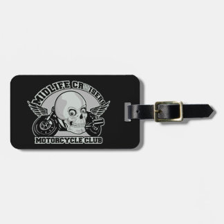 Midlife Cruisers MC custom luggage tag