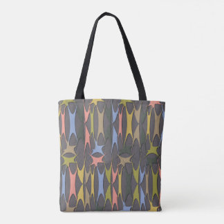 Midnight 60's tote bag