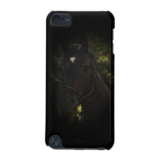 Midnight Beauty-Black Stallion Horse iPod Touch 5G Cases