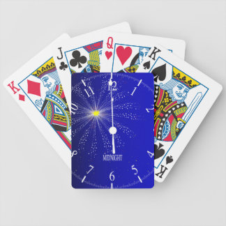 Midnight Bicycle Playing Cards