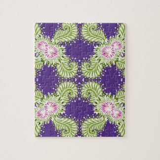 Midnight bloom jigsaw puzzle