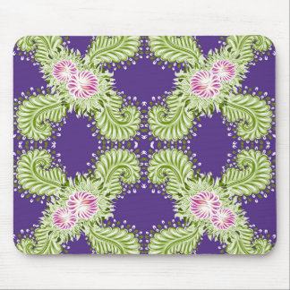 Midnight bloom mouse pad