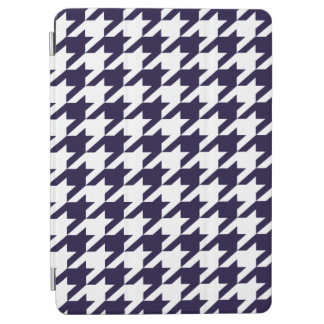 Midnight Blue Moods Houndstooth iPad Air Cover