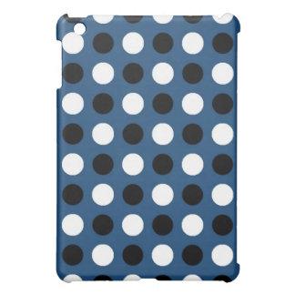 Midnight Blue Polka Dots Cover For The iPad Mini