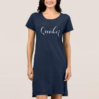 Midnight Blue Quaker Dress