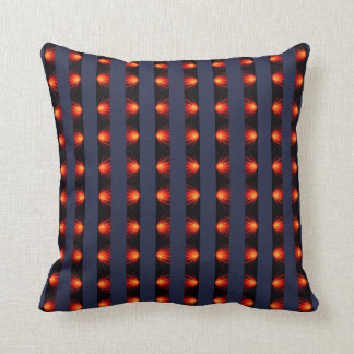 Midnight Blue Stripe Cushion