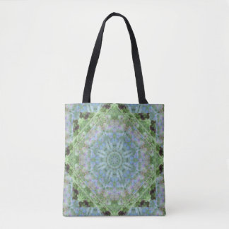 Midnight Blue Violet Mandala Crossbody/Tote Tote Bag