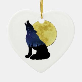 Midnight Calling Ceramic Ornament