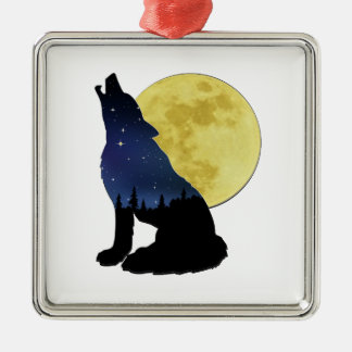 Midnight Calling Metal Ornament