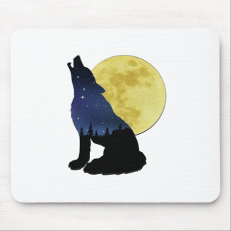 Midnight Calling Mouse Pad