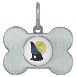 Midnight Calling Pet Name Tag