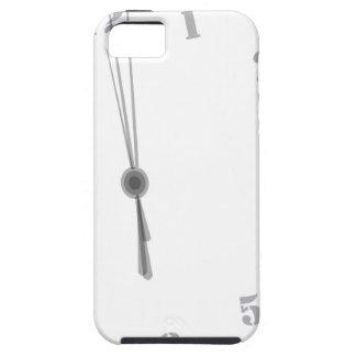 Midnight Clockface iPhone 5 Covers