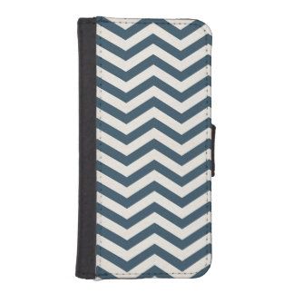 Midnight Cream Chevrons iPhone 5/5s Wallet Case Phone Wallets