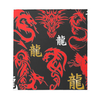MIDNIGHT DRAGON NOTE PADS