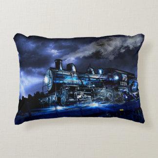 Midnight Express Accent Pillow