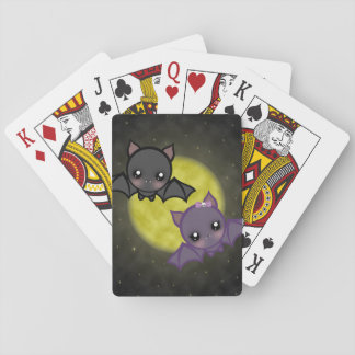 """Midnight Flight"" Playing Cards"