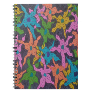 Midnight Floral Bouquet Notebook
