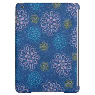 Midnight floral ipad air cover
