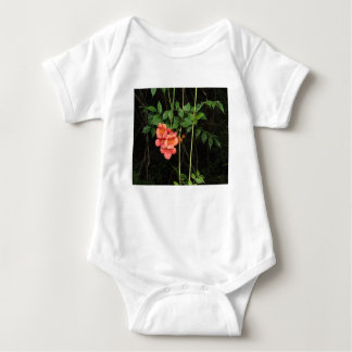 Midnight Flowers Baby Bodysuit