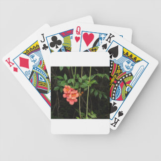 Midnight Flowers Bicycle Playing Cards
