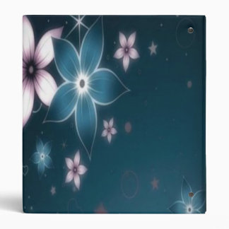 Midnight flowers binders