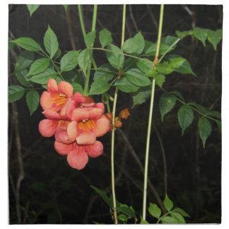 Midnight Flowers Napkin