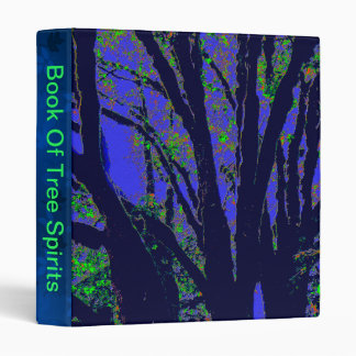 Midnight Forest Vinyl Binder